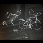 Bride Cycle & Groom Skates
