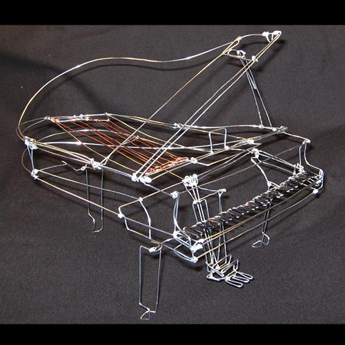 Wire Grand Piano